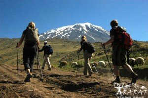 Climbing To Mount Ararat