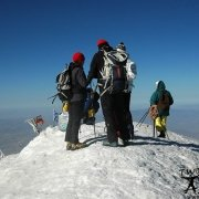 A group of climbers reached the summit of Mount Ararat