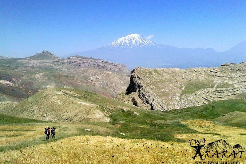 Climbing Mount Ararat Autumn